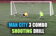 SoccerCoachTV – Man City 3 Combo Shooting Drill.