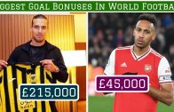 7 Biggest Goal Bonuses in World Football